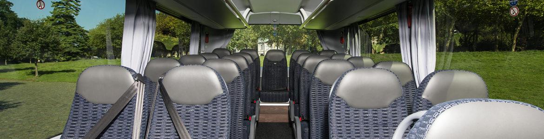 Uw huur van een bus voor lange afstanden